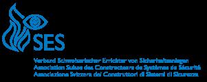 SES Logo: Verband Schweizerische Errichter von Sicherheitsanlagen